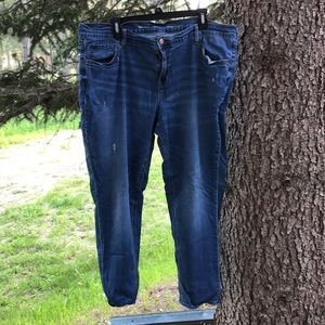 Old Navy Boyfriend Fit Skinny Jeans Size 18
